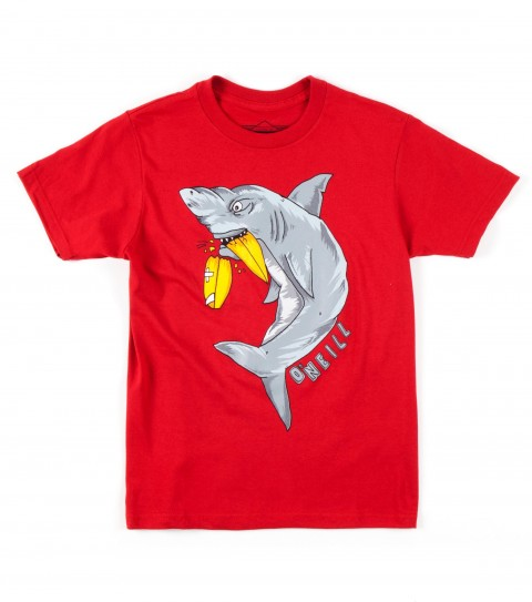 Surf O'Neill Boys Whitey Tee.  100% Cotton.  20 singles classic fit tee with softhand screenprint. - $18.00