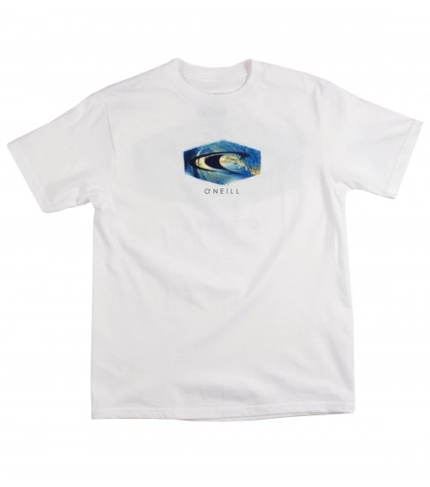 Surf O'Neill Boys Platforms Tee.  100% Cotton.  20 singles classic fit tee with softhand screenprint. - $18.00
