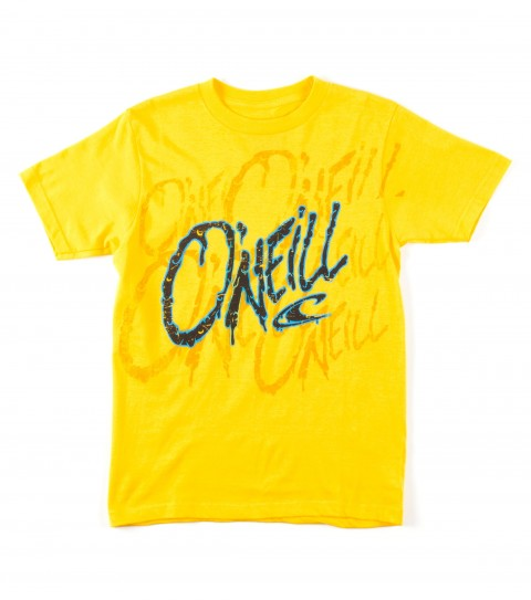 Surf O'Neill Boys Attack Tee.  100% Cotton.  Screenprint. - $18.00