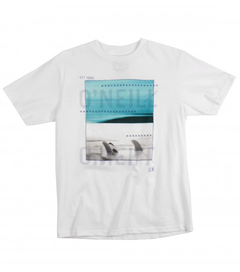 Surf O'Neill Boys South Swell Tee.  100% Cotton. Screenprint. - $18.00
