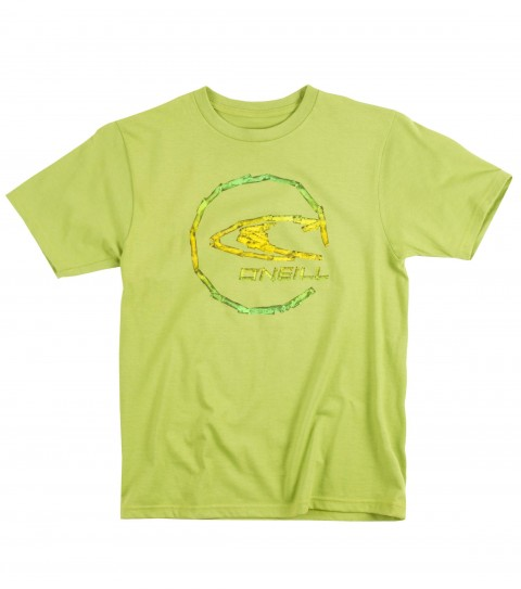 Surf O'Neill Boys Taped Tee.  100% Cotton.  20 singles classic fit tee with softhand screenprint. - $18.00