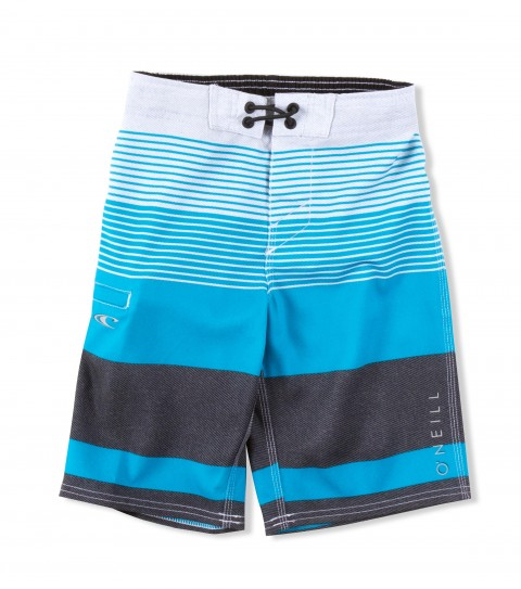 Surf O'Neill Kids John John Boardshorts.  Epicstretch.   Boardshort features superfly closure; locking drawcord; welt zipper pocket; contrast waistband binding and screened logos. - $44.50