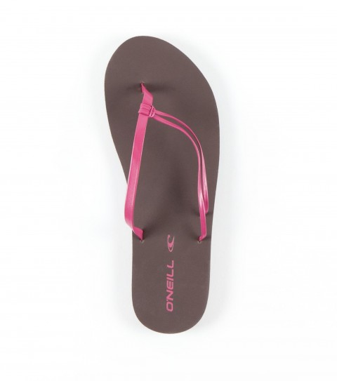 Entertainment O'Neill Duet Sandals.  Faux leather flip flop with knotted strap detail; EVA midsole; stamped rubber outsole. - $12.99