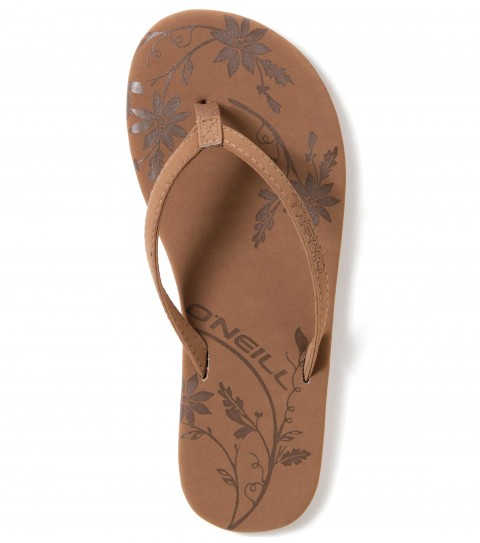 Entertainment O'Neill Rambler Sandals.  Faux nubuck flip flop wrapped topsole; embossed art; eva midsole with arch support; stamped rubber sponge outsole. - $12.99