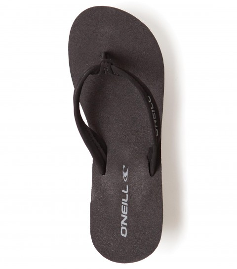 Surf O'Neill Tiki Ti Sandal Wedges.  Eva wedge with faux nubuck straps; stamped eva outsole. - $18.99