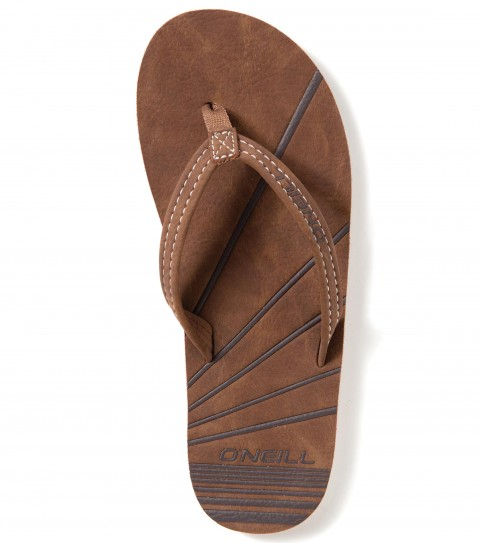 Entertainment O'Neill Icon Sandals.  Faux nubuck upper; faux nubuck footbed with embossed art; eva midsole with contrast stripe; custom TPR outsole. - $15.99