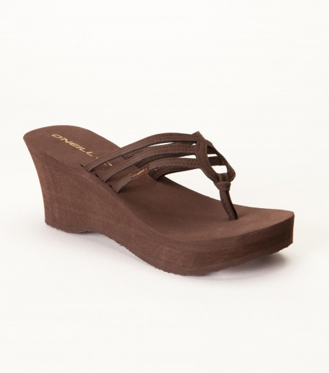 Entertainment O'Neill girls eva wedge with faux nubuck straps and stamped eva outsole. - $17.99