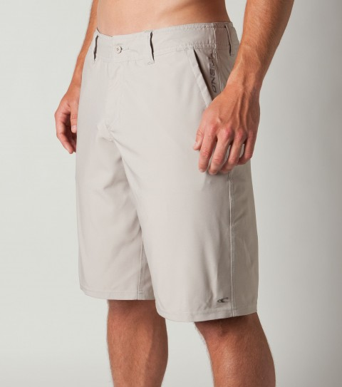 Surf O'Neill epicstretch 21'' outseam Hybrid boardshorts/walkshorts with button fly closure; interior drawcord; belt loops; back welt detailed pockets; embroidered and screened logos. - $39.99