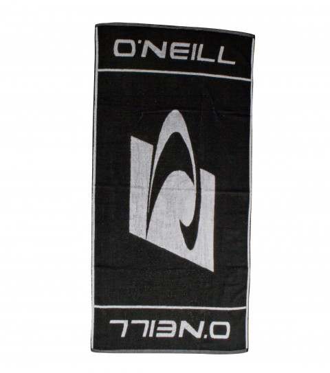 Surf 100% cotton terry towel with jacquarded logos and edge binding - $38.00