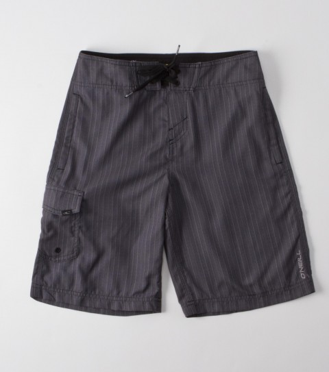 Surf O'Neill Boys Wall Street Boardshorts.  New hyperfreak stretch.  21'' Outseam features engineered printed boardshort with super fly 2.0 closure; locking drawcord ; no inseam ;welded pocket and hem; embroidered and screened logos. - $29.99