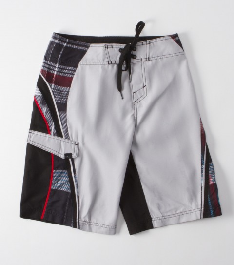 Surf O'Neill Grinder Boys Boardshorts. Speed dry nylon 19'' outseam features boardshort with comfort fly closure; back velcro pocket; woven patch; embroidered and screened logos. - $28.99