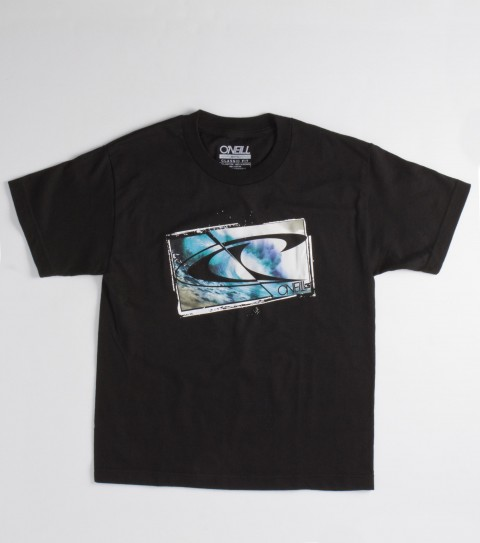 Surf O'Neill Boys Shipstern tee.100% cotton; 18 singles basic fit tee with softhand screenprint - $12.99