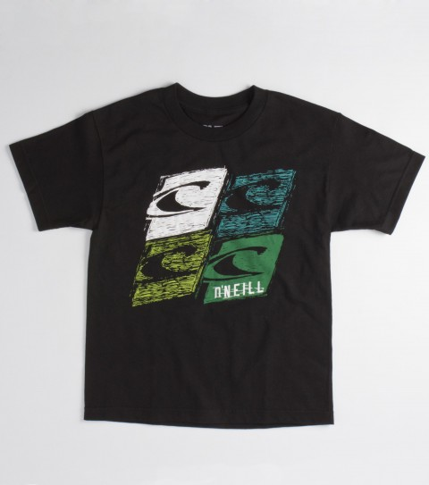 Surf The O'Neill Boys Relevant tee is a 100% cotton fit tee with softhand screenprint. - $12.99