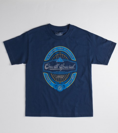 Surf O'Neill Boys Reserve Tee.100% cotton; 18 singles basic fit tee with softhand screenprint - $12.99