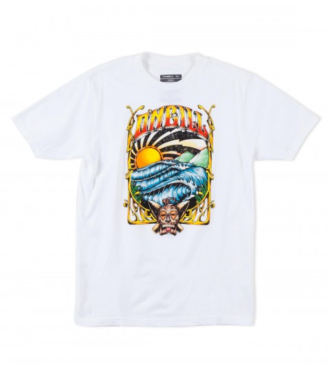 Surf O'Neill Boys Wargod Tee. 100% cotton; 18 singles basic fit tee with softhand screenprint. - $12.99