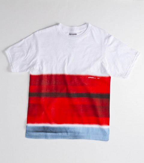 Surf O'Neill Boys Transition Tee.  100% Cotton.  18 Singles basic fit tee with softhand screenprint. - $18.00