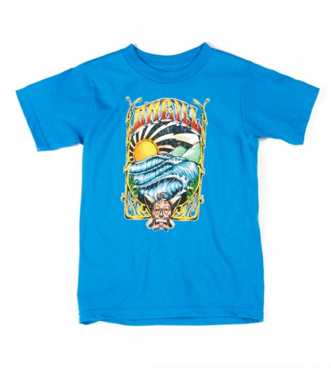 Surf O'Neill Boys Wargod tee.100% cotton; 18 singles basic fit tee with softhand screenprint - $11.99