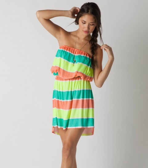 Surf O'Neill Jane Coverup Dress.  100% Viscose slub jersey. - $30.99