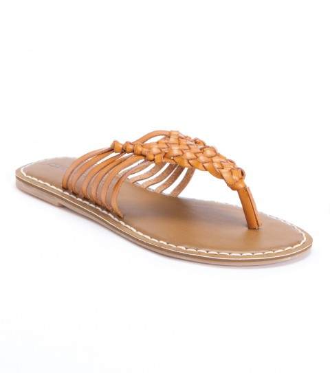 Entertainment The O'Neill Carnival sandals are made of faux leather  with metal bead trim; faux leather sock with contrast stitch; and sandal bottom outsole. - $24.99