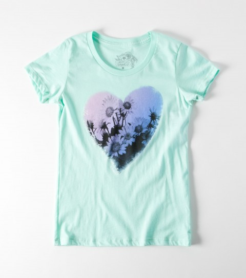 Surf The O'Neill Girls Flower Power Tee is made of 100% cotton jersey; girls best tee. - $9.99