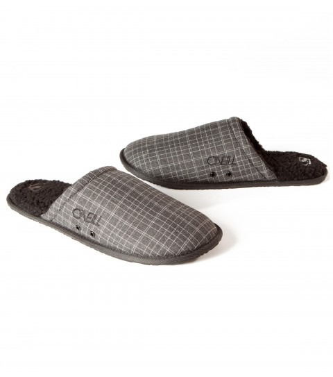 Surf The O'Neill Rico 2 slipper is made of assorted fabric and pattern upper; sherpa inner lining; padded printed and solid sherpa footbed with arch cookie; embroidered logos; eva outsole. - $14.99