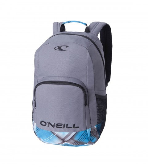Camp and Hike Drift on vagabond; with the O'Neill Drifter Backpack.  Dimensions 18 h x 13 w x 7d; Volume 2000 cubic inches; Tricot lined stash pocket; Breathable back flow channels; Organizer - $35.00