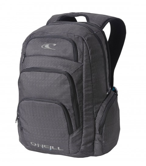 Camp and Hike O'Neill On Point Backpack. 18''H x14''W x 9''D; volume 2000 cubic inches; breathable back flow channels; tricot lined stash pocket; organizer. - $41.99