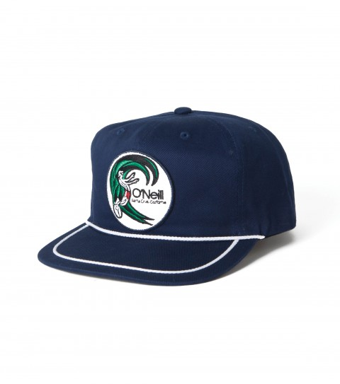 Surf O'Neill sailor-style hat with patch applique; top visor rope detail; snapback closure and slight curved visor. - $14.99