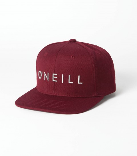 Surf O'Neill Yambao Hat: tactile twill 6 panel hat with front raised embroidery and back woven label; snap back closure and slight curved visor.  One size fits most. - $19.99
