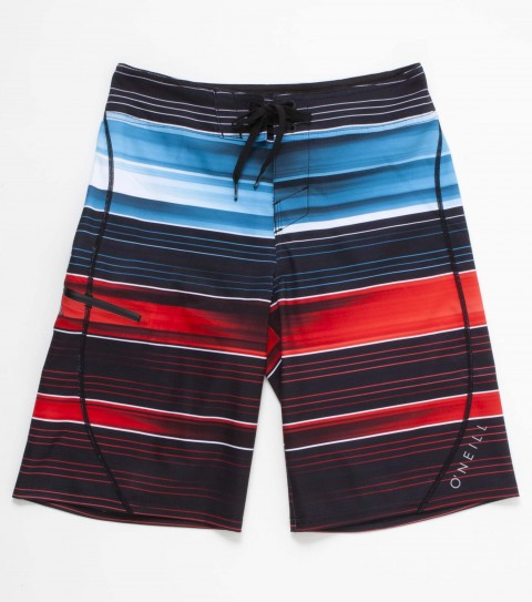 Surf O'Neill boys Jordy Smith Signature boardshorts with epic stretch 19'' outseam features engineered printed boardshort with superfly 2.0 closure; zipper pocket and screened logos. - $35.99