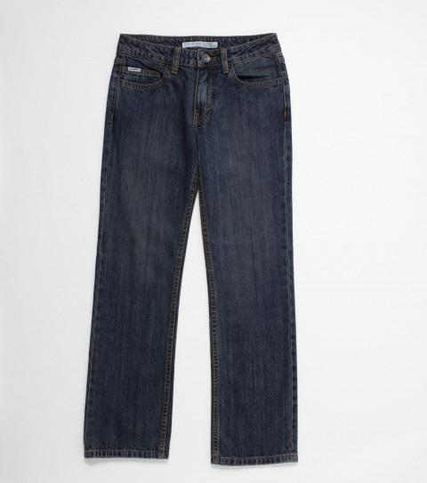 Surf O'Neill boys jeans 100% cotton 11oz denim; straight fit; top stitch back pockets; interior stitch detail; logos labels and hardware. - $46.00