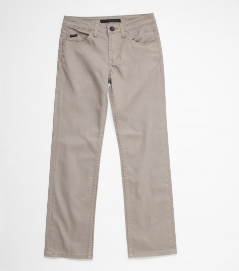 Surf O'Neill Boys Dylan Pants.  98% Cotton / 2% Spandex stretch twill slim fit; clean back pockets; contrast fabric pocketing; logo labels and hardware. - $30.99