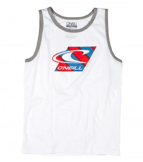 Surf O'Neill boys tank 90% cotton 10% polyester; 30 singles with softhand screenprint. - $14.99