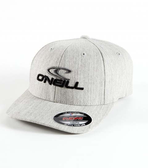 Surf O'Neill Boys Staple Hat.   Wooly combed stretch fabric 6 panel flex fit hat with contrast front panel; center front and small back embroideries.  Curved visor.  X fit. - $14.99