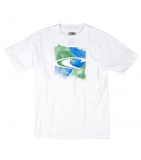 Surf The O'Neill boys Bleeds tee is made of 100% cotton; basic fit tee with softhand screenprint. - $12.99