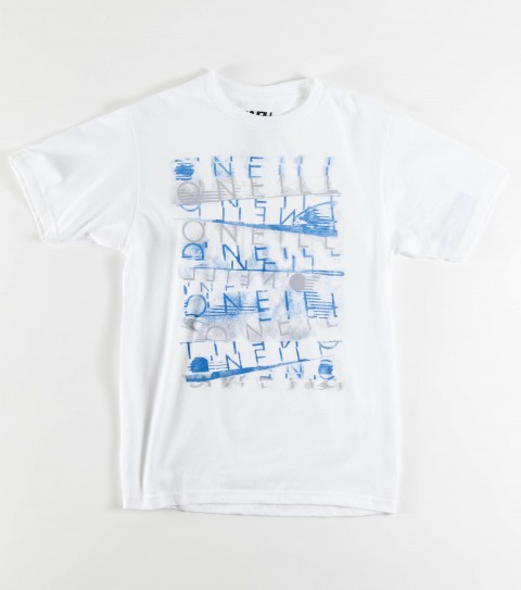 Surf The O'Neill Boys Corruption tee is made of 100% cotton; basic fit tee with softhand screenprint. - $12.99