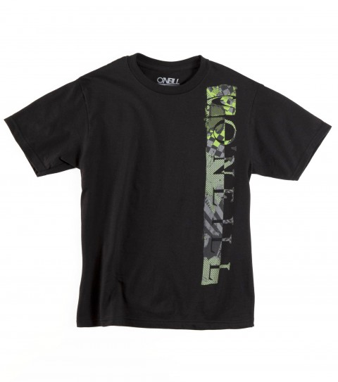 Surf O'Neill Boys Control Tee.  100% Cotton. 18 Singles basic fit tee with softhand screenprint. - $12.99