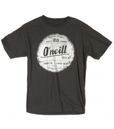 Surf O'Neill boys tee 100% cotton 18 singles basic fit tee with softhand screenprint. - $14.99