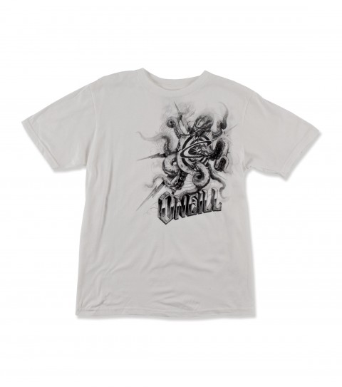 Surf O'Neill Octified Tee.  100% Cotton.  18 singles basic fit tee with softhand screenprint. - $14.99