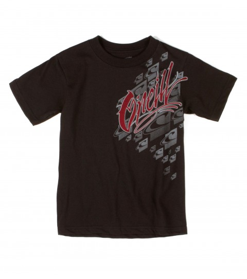 Surf O'Neill boys tee 100% cotton; 18 singles basic fit tee with softhand screenprint. - $11.99