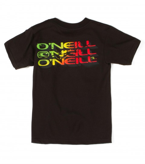 Surf O'Neill kids tee 100% cotton; 18 singles basic fit tee with softhand screenprint. - $16.00