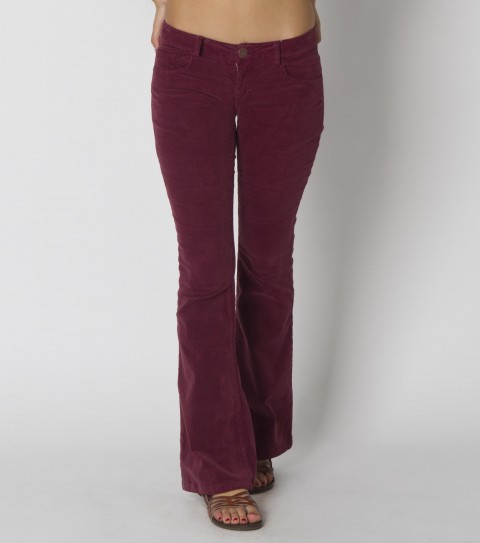 Surf O'Neill Sophomore Pant. 98% Cotton/ 2% elastane corduroy; overdyed; skinny belly silhouette; back pieced pockets; antique copper trims - $45.99