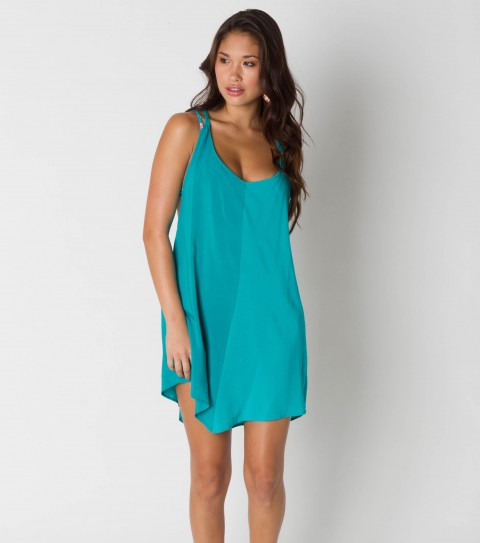 Entertainment This O'Neill Dawn Tank Dress is a two-toned bright colored dress - $26.99