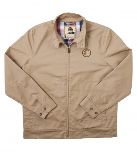 Surf Jack O'Neill Tradewinds Jacket: 100% cotton twill retro zip-up jacket. Standard fit; contrast plaid lining; front hand pockets; Jack O'Neill labels and embroideries. - $57.99