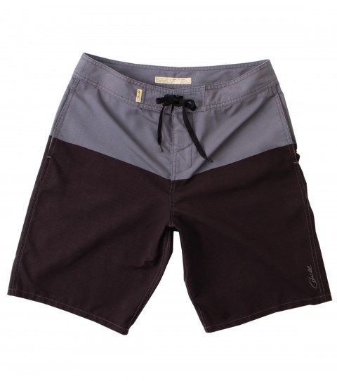 Surf Jack O'Neill Venice Boardshorts: tri-blend stretch engineered-color blocked boardshorts. Rigid fit; 20'' outseam; contrast interior waistband; Jack O'Neill labels and embroideries. - $44.99