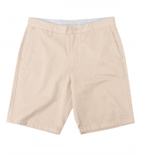 Surf Jack O'Neill Gavin Shorts: 100%cotton twill walkshorts. Standard fit; contrast interior waistband; Jack O'Neill labels and embroideries. - $41.99