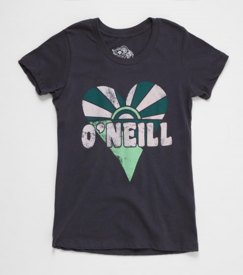 Surf Surf off into the sunset with this physchadellic O'Neill Odyssey Tee. 100% cotton jersey; girls best tee with sugar glitter - $14.99