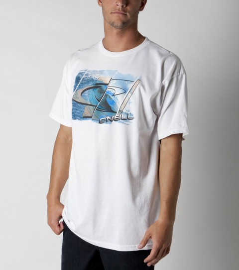 Surf O'Neill Spectrum Tee.100% ringspun cotton; basic fit tee with softhand screenprint. - $14.99