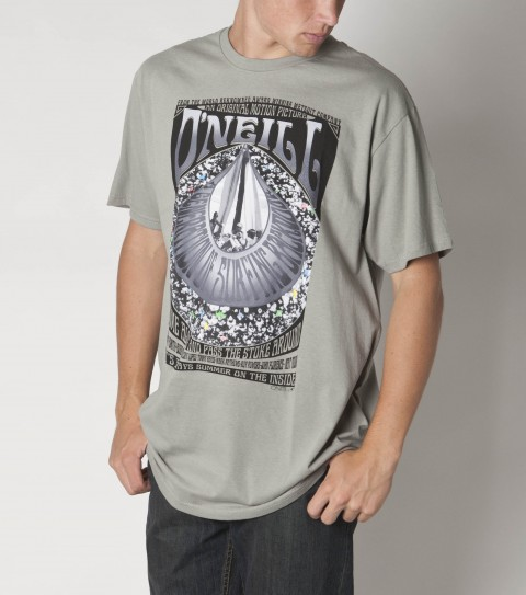 Surf The O'Neill Antidote Tee is made of 100% ringspun cotton; is prewashed; slim fitting with softhand screenprint. - $20.00