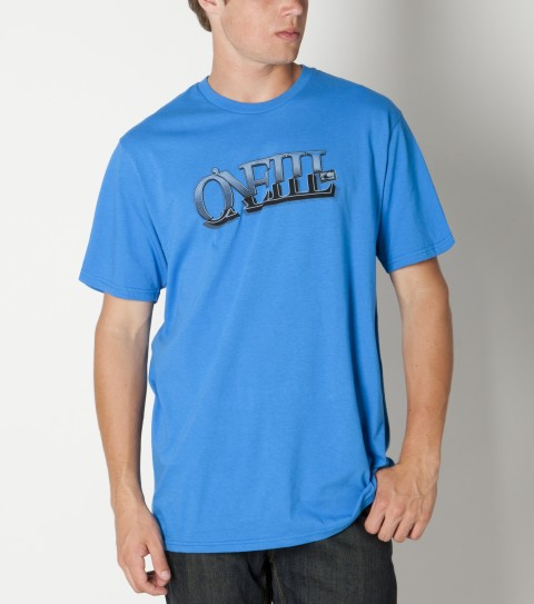 Surf O'Neill Demand Tee is made of 100% ringspun cotton; prewashed; slim fit tee with softhand screenprint. - $20.00